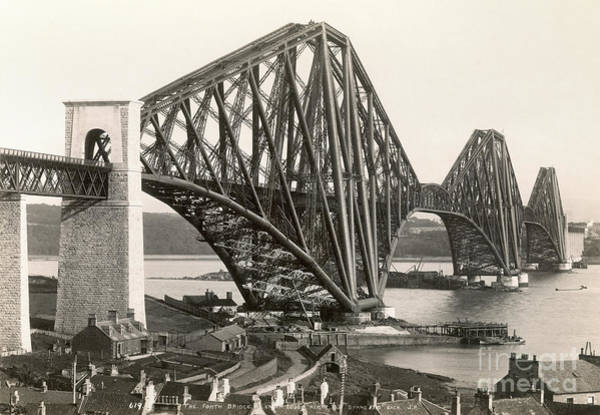 Painting - Scotland: Forth Bridge by Granger