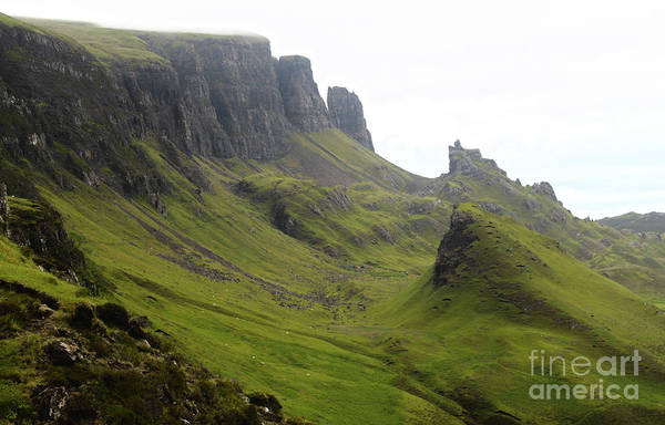 Photograph - Scotland Isle Of Skye The Quiraing by Gregory Dyer