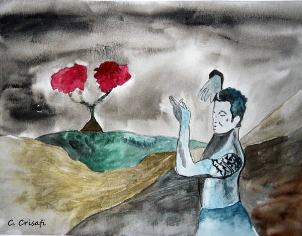 Painting - Scott Weiland - Stone Temple Pilots - Music Inspiration Series by Carol Crisafi