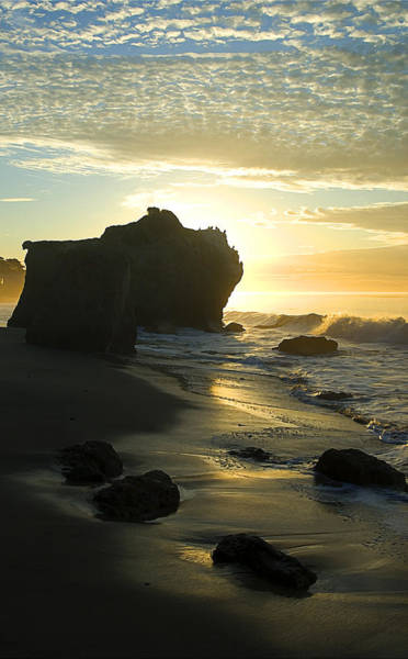 Matador Photograph - Sea And Sunrise by Ron Regalado