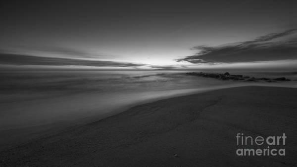 Jetti Wall Art - Photograph - Sea Girt Sunrise New Jersey  by Michael Ver Sprill