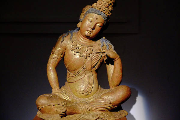 Photograph - Seated Buddha by August Timmermans