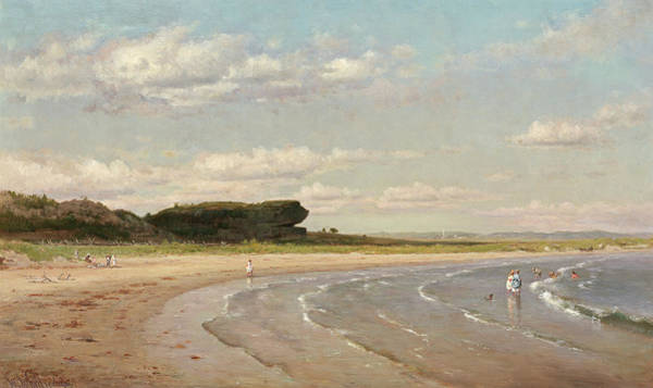 Painting - Second Beach Newport by Worthington Whittredge