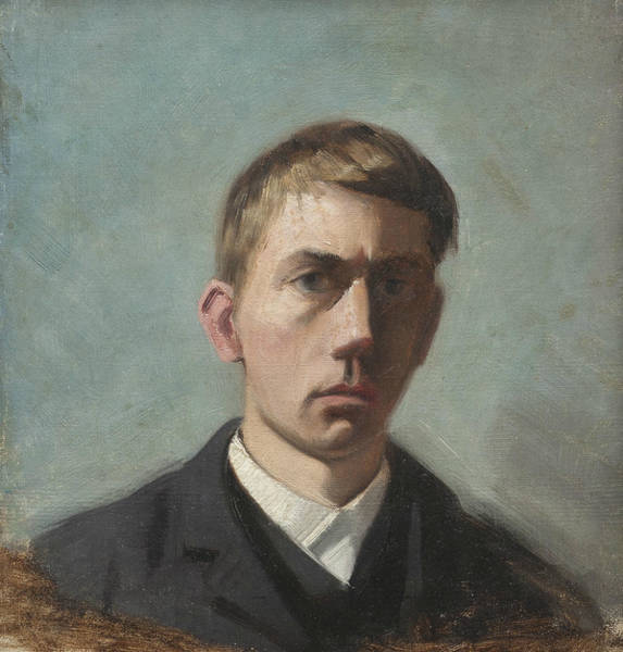 Painting - Self-portrait by Eugene Jansson