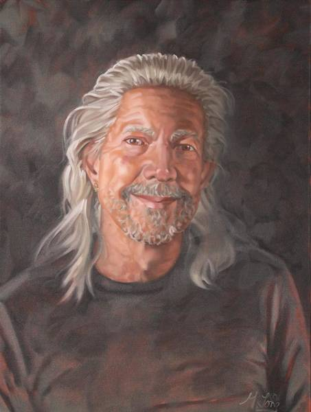 Painting - Self-portrait by Gary M Long