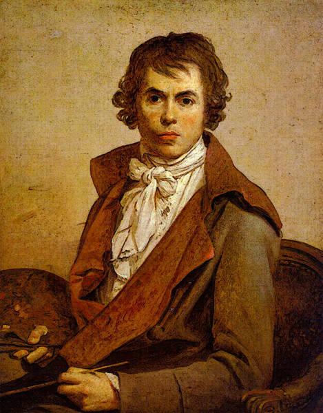 Painting - Self-portrait by Jacques-Louis David