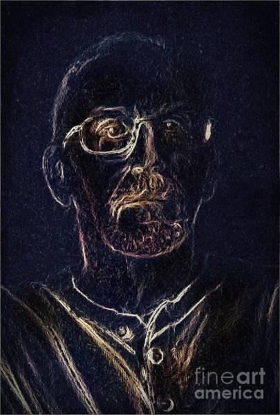 Digital Art - Selfie by David Neace