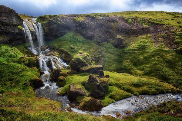 Lava Lakes Photograph - Selvallavatn - Iceland by Joana Kruse