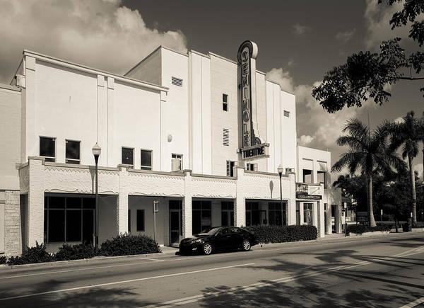Photograph - Seminole Theatre Homestead Florida by Rudy Umans