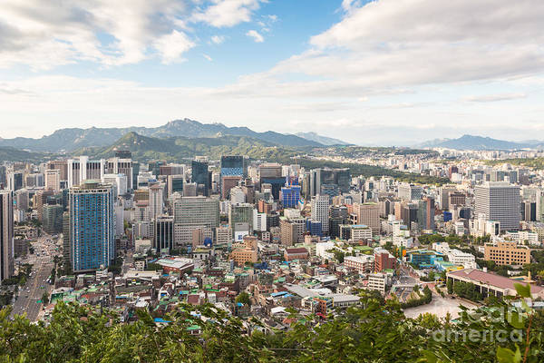 Photograph - Seoul Panorama by Didier Marti