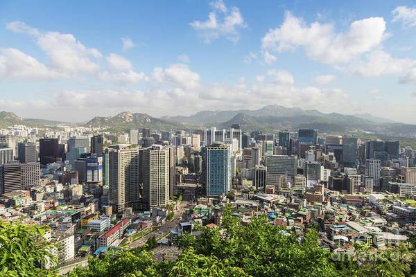 Photograph - Seoul Skyline by Didier Marti