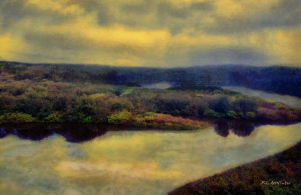 Painting - September Sunrise by RC DeWinter