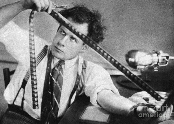 1924 Photograph - Sergei Eisenstein (1898-1948) by Granger