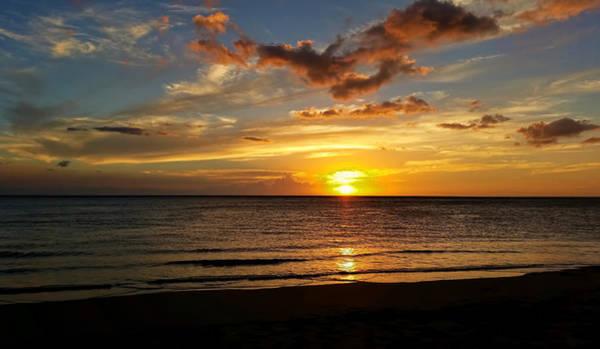 Photograph - Setting Sun by Pamela Walton