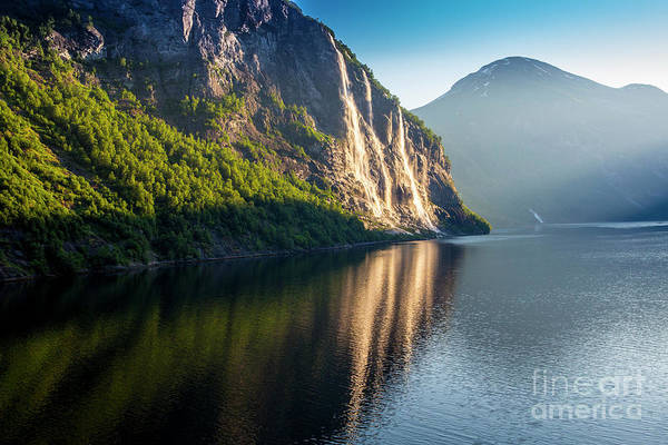 Wall Art - Photograph - Seven Sisters Falls, Geiranger, Norway by Sheila Smart Fine Art Photography