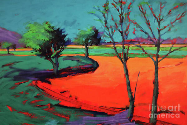 Wall Art - Painting - Severn Stoke by Paul Powis