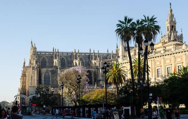 Catedral De Sevilla Wall Art - Photograph - Seville - The Cathedral  by Andrea Mazzocchetti