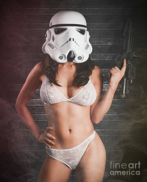Laser Gun Photograph - Sexy Trooper by Jt PhotoDesign