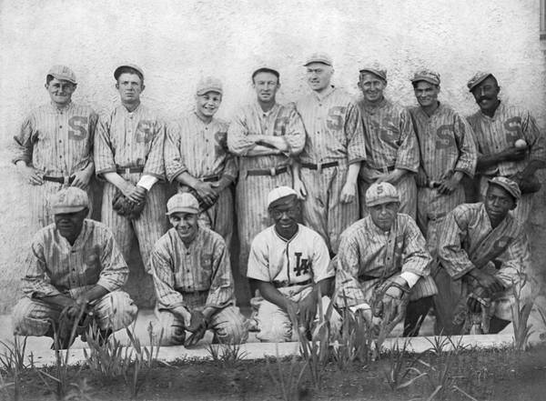 Wall Art - Photograph - Sf Seals Baseball Team by Underwood Archives