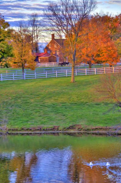 Photograph - Shaker Lake 3 by Sam Davis Johnson