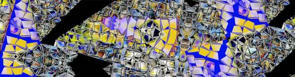 Fragment Digital Art - Shards by Ron Bissett