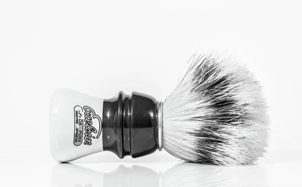 Photograph - Shaving Brush by Gary Gillette