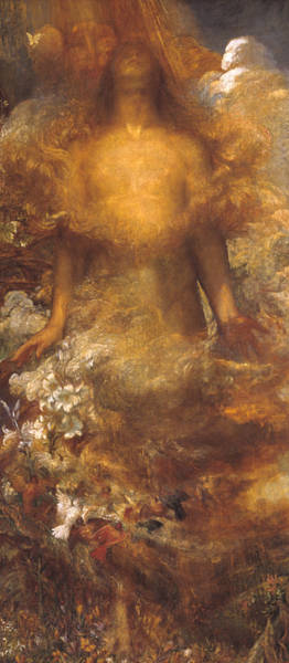She Wall Art - Painting - She Shall Be Called Woman by George Frederic Watts