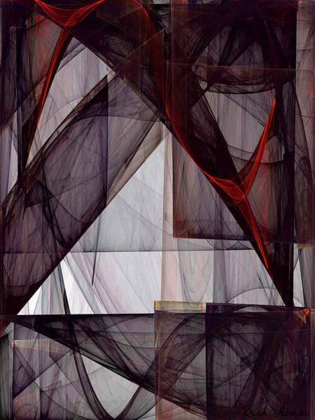 Digital Art - Sheer Walls Concealing Nothing by Rein Nomm
