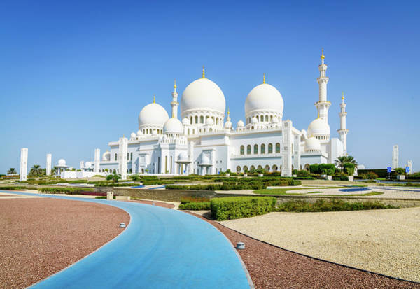 Wall Art - Photograph - Sheikh Zayed Grand Mosque by Alexey Stiop
