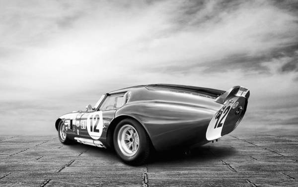 Wall Art - Digital Art - Shelby Daytona Coupe by Peter Chilelli