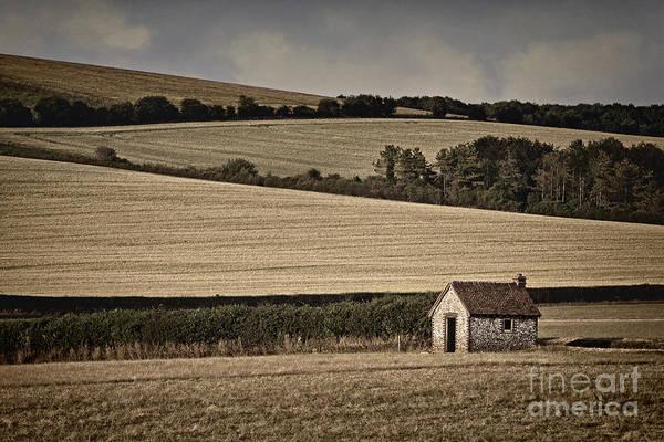 Wall Art - Photograph - Shepherds Hut by Richard Thomas