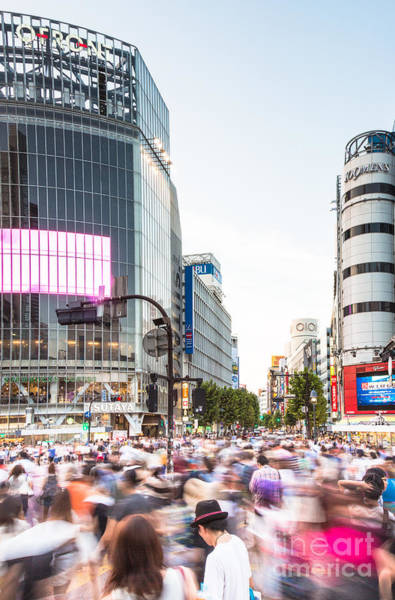 Photograph - Shibuya Crossing In Tokya by Didier Marti