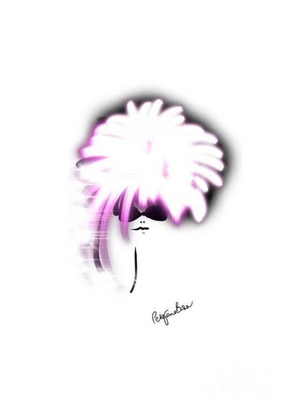 Hairdo Digital Art - Shimmer In Pink by Peta Brown