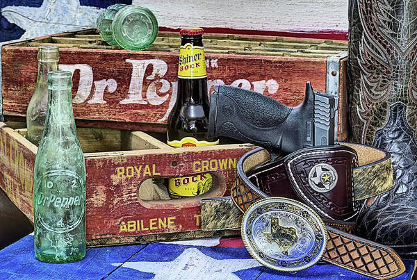 Wall Art - Photograph - Shiner Bock The Beer Of Texas by JC Findley