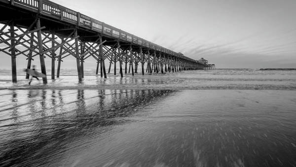 Shoot The Pier Art Print by Michael Donahue