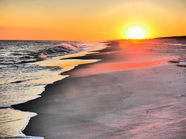 Wall Art - Photograph - Shoreline Sunset by Jack Riordan