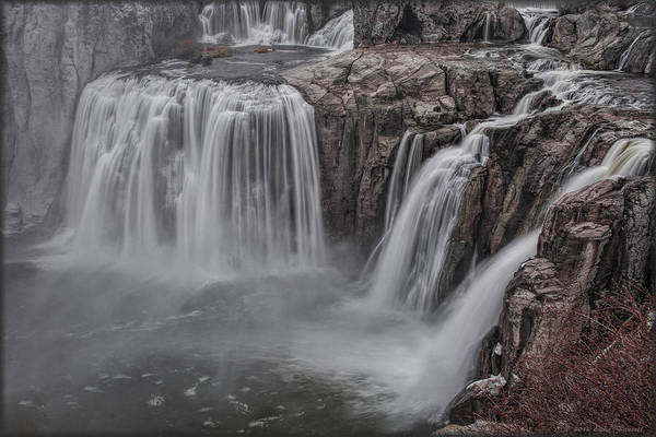 Photograph - Shoshone Falls by Erika Fawcett
