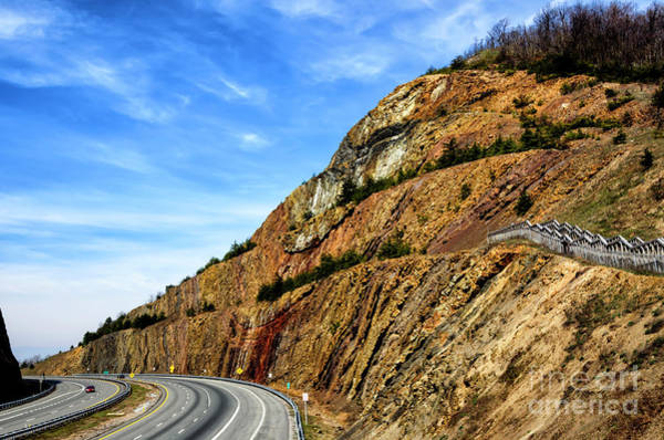 Photograph - Sideling Hill Maryland by Thomas R Fletcher