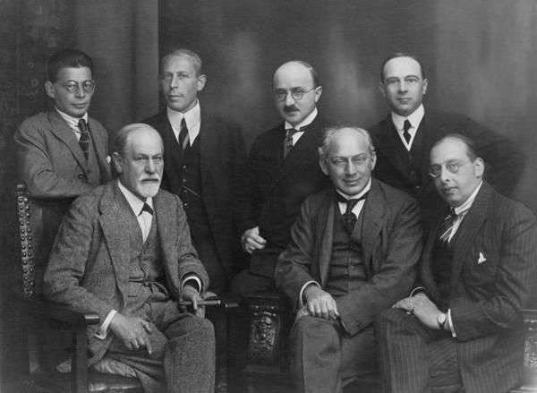 Psychiatry Photograph - Sigmund Freud 1856-1939 by Everett