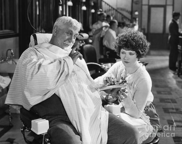 Photograph - Silent Still: Beauty Salon by Granger