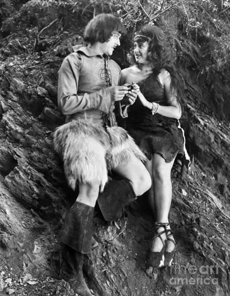 Photograph - Silent Still: Man & Woman by Granger