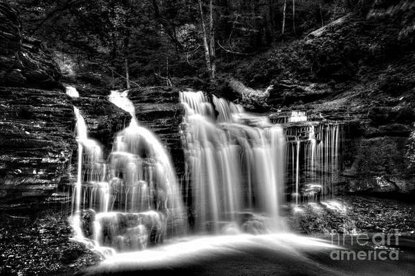 Wall Art - Photograph - Silvery Falls by Paul W Faust - Impressions of Light