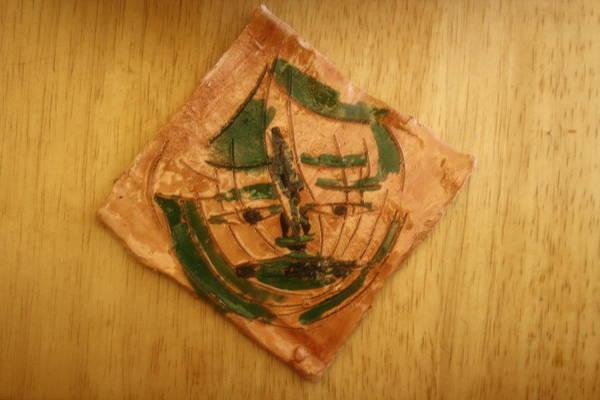 Ceramic Art - Simeon - Tile by Gloria Ssali