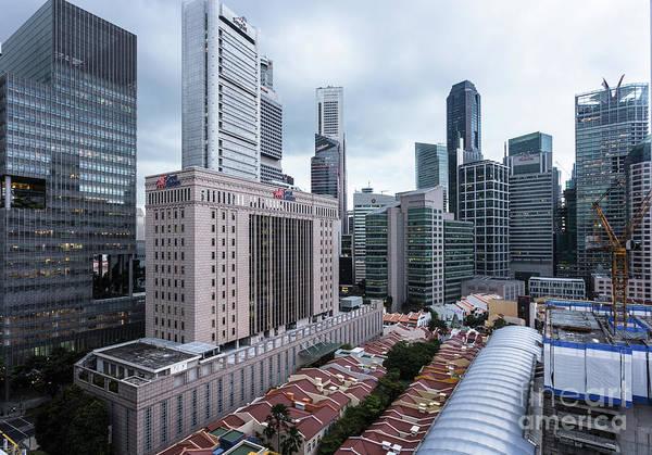 Photograph - Singapore Skyline by Didier Marti