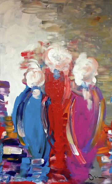 Decorative Wall Art - Painting - Single Women by Mac Worthington
