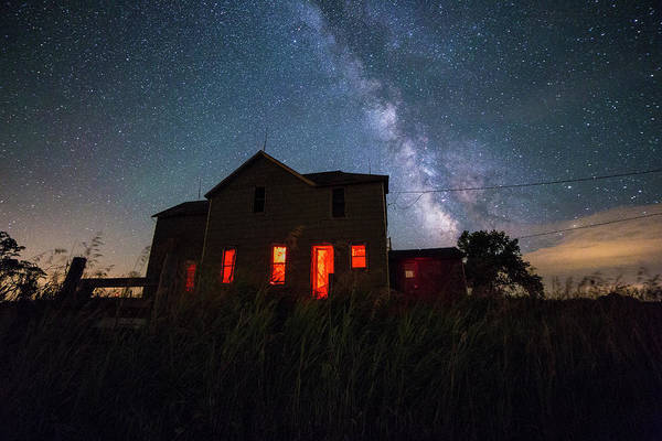 Abandoned House Wall Art - Photograph - Sinister by Aaron J Groen