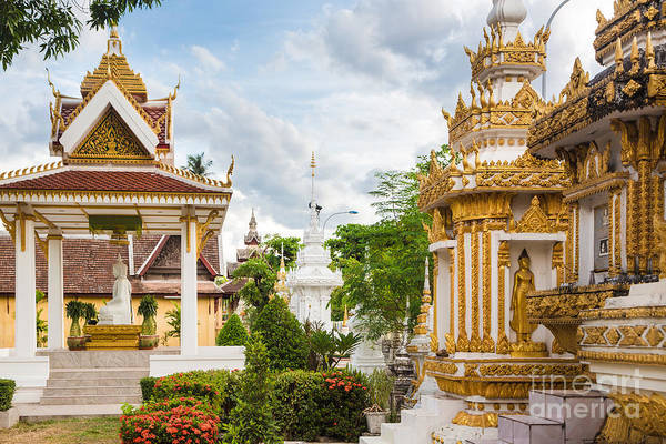 Photograph - Sisaket Temple In Vientiane by Didier Marti