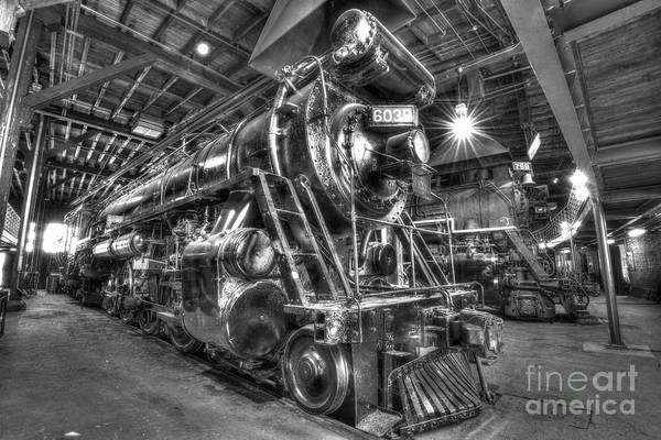 Photograph - Sitting In The Roundhouse  by Paul W Faust - Impressions of Light