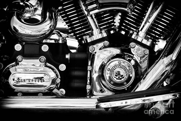Wall Art - Photograph - Six Speed by Tim Gainey