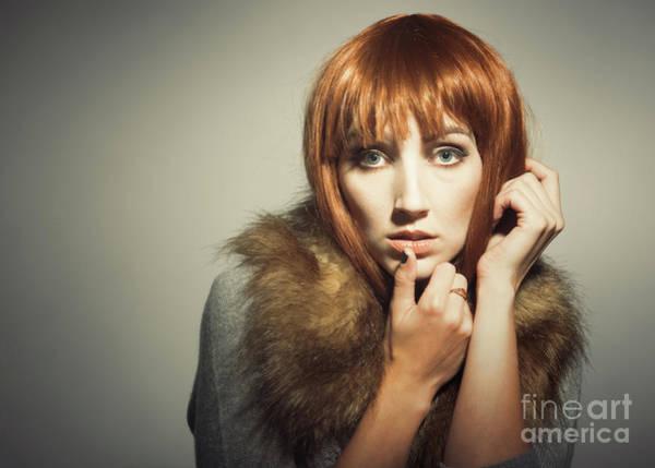 Seventies Photograph - Sixties Era Fashion Look by Amanda Elwell